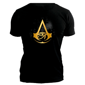 Camiseta Assassin´s Creed Origins Golden Crest  Talla M