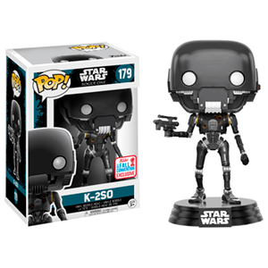 Figura Pop Star Wars Rogue One: Damaged K-2SO