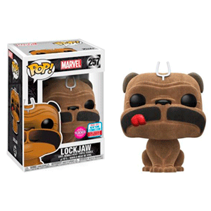 Figura Pop Marvel Inhumans: Lockjaw Flocked