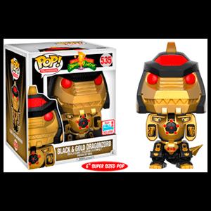 Figura Pop Power Rangers: Dragonzord Black & Gold
