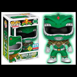 Figura Pop Power Rangers: Green Ranger GITD