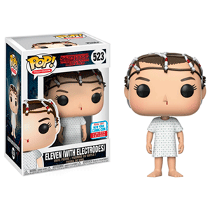 Figura Pop Stranger Things: Eleven con Electrodos