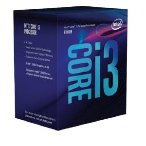 Intel Core i3-8100 3.6Ghz 4-Core LGA1151