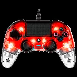 Mando Nacon Con Cable y Luz Rojo - Licencia Oficial Sony