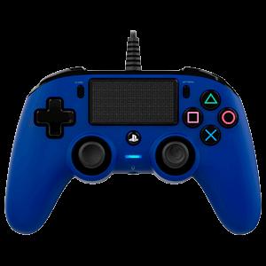Mando Nacon Con Cable Azul - Licencia Oficial Sony
