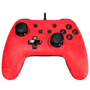 Controller con Cable PowerA Mario -Licencia oficial-
