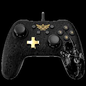 Controller con Cable PowerA Zelda -Licencia oficial-