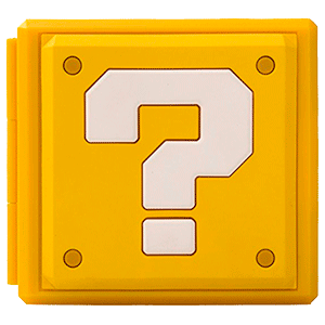 Estuche para Juegos PowerA Question Block -Licencia oficial-