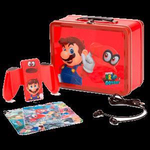 Pack accesorios con Caja Metálica PowerA Mario -Licencia oficial-