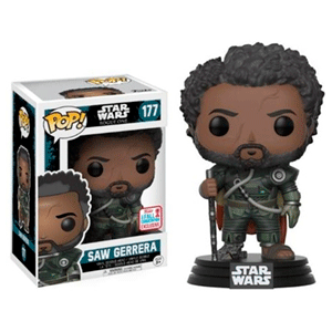 Figura Pop Star Wars Rogue One: Saw Guerrera NYCC