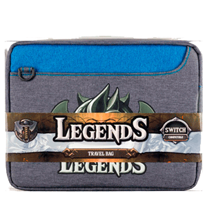 Bolsa Travel para Nintendo Switch Indeca Legends