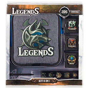 Kit 8 Accesorios 2DS Indeca Legends