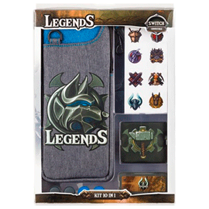 Starter Pack para Nintendo Switch Indeca Legends