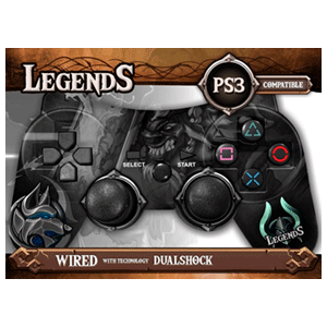 Controller con Cable Indeca Legends