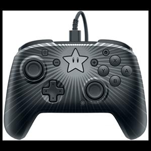 Controller con Cable PDP Super Mario Star -Licencia oficial-