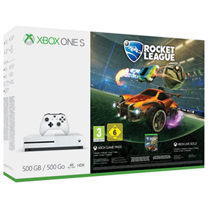 Xbox One S 500GB + Rocket League
