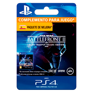 Star Wars Battlefront II: Deluxe - Upgrade PS4