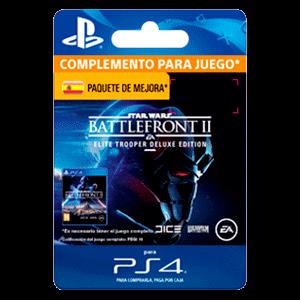 Star Wars Battlefront II: Deluxe - Upgrade PS4