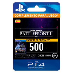 Star Wars Battlefront II: 500 Crystals PS4