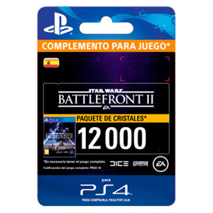 Star Wars Battlefront II: 12000 Crystals PS4
