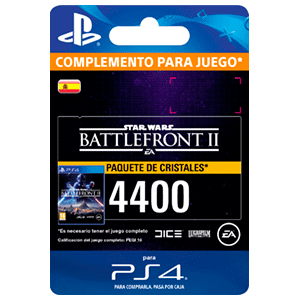 Star Wars Battlefront II: 4400 Crystals PS4