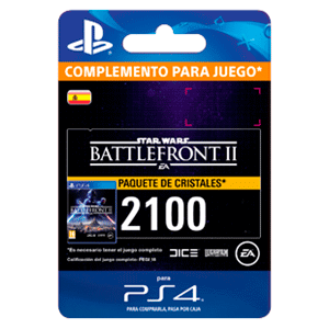 Star Wars Battlefront II: 2100 Crystals PS4