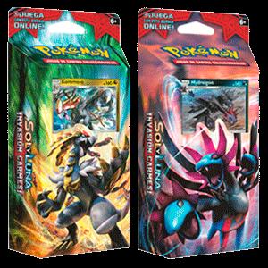 Baraja 60 Cartas Pokemon Sol y Luna: Invasión Carmesí