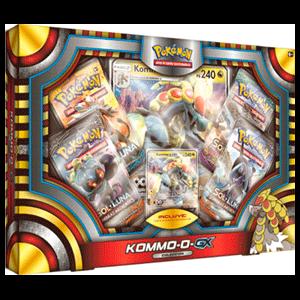Caja Pokémon GX Komm-O