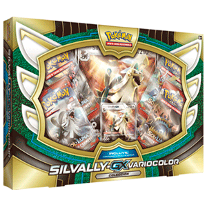 Caja Pokémon GX Shiny Silvally
