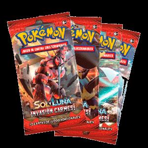 Sobre 10 Cartas Pokemon Sol y Luna: Invasión Carmesí