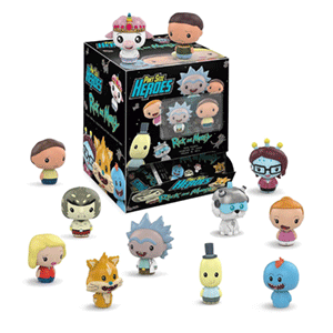 Pint Sized Heroes Rick & Morty