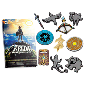 Pin Zelda: Breath of the Wild Coleccionista (Surtido)