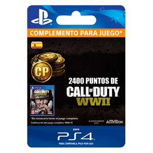 Call of Duty WWII 2400 Points PS4