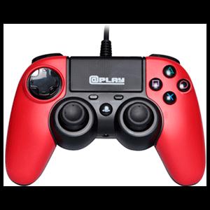 Controller Playstation 4 Rojo At Play -Licencia Oficial Sony-