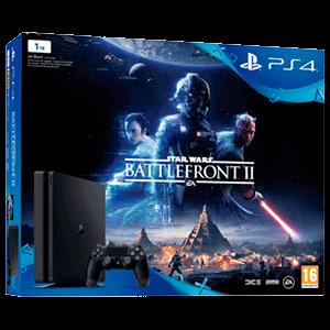 PlayStation 4 Slim 1TB + Star Wars Battlefront II