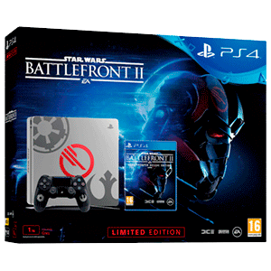 PlayStation 4 Slim 1TB Edición Limitada + Star Wars Battlefront II