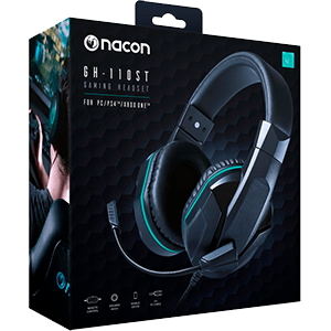 Nacon GH-110 PC/PS4/XONE - Auriculares Gaming