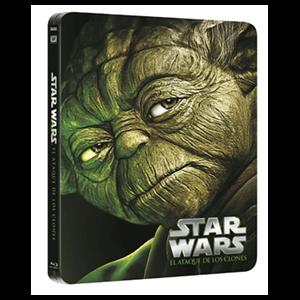 Star Wars II: El Ataque De Los Clones Steelbook