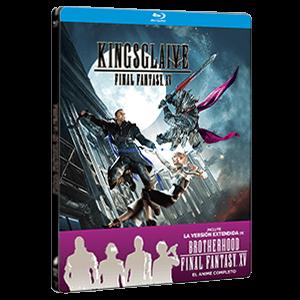 Final Fantasy XV: La Pelicula BD Metal 2 Discos