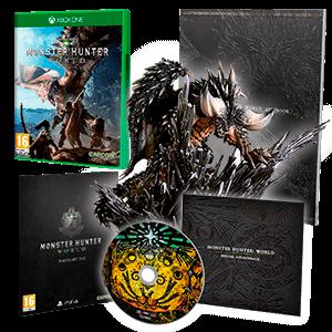 Monster Hunter World Edición Coleccionista