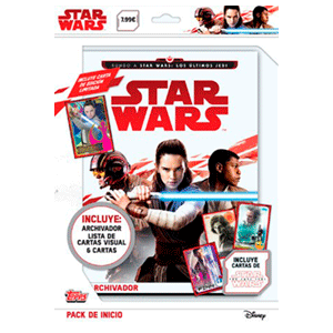 Pack de Inicio Star Wars Topps