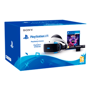 Playstation VR + Cámara 2.0 + Voucher VR Worlds