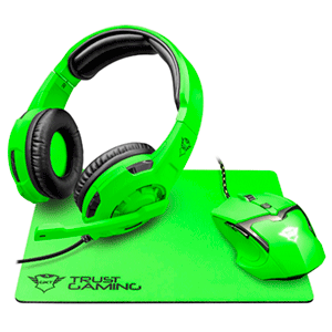 Trust GXT 790 Spectra Gaming Bundle Verde - Pack Gaming