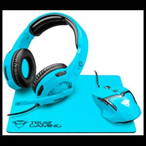 Trust GXT 790 Spectra Gaming Bundle Azul