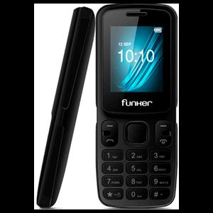 "Funker F1 Classic 1,8"" Dual SIM Negro"