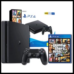 Playstation 4 Slim 1tb Gta V Playstation 4 Game Es