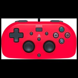 Mando Hori Mini con Cable Rojo - Licencia Oficial-