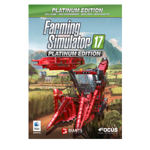 Farming Simulator 17 Platinum MAC Version