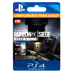 Tom Clancy's Rainbow Six Siege Year 3 Pass PS4