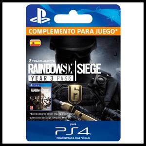 Tom Clancy's Rainbow Six Siege Year 3 Pass PS4